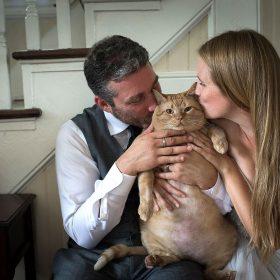 Easy Cat Wedding Cake Topper